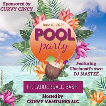 Plus size pool Party Ft Lauderdale Florida June 2021