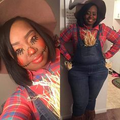 Plus Size Scarecrow Costume Miz Cooks Top 5 DIY Plus Size Costumes -Curvy Ventures Ft Lauderdale